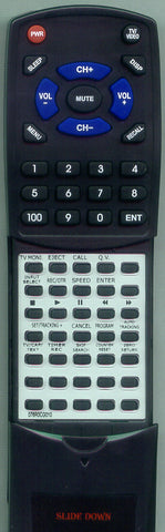 SANSUI 0766093100 Replacement Remote