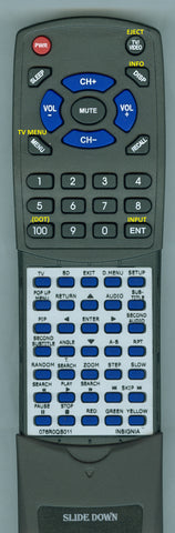 INSIGNIA 076R0QS011 Replacement Remote