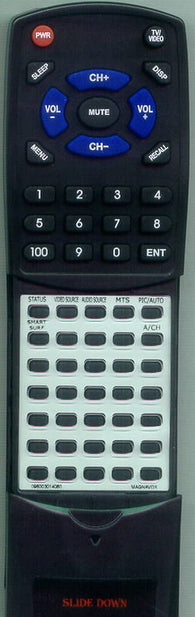 MAGNAVOX 15MF200V37 Replacement Remote