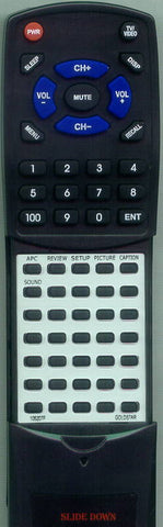 GOLDSTAR 105-222K Replacement Remote