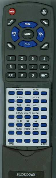 KLIPSCH 1062590 Replacement Remote
