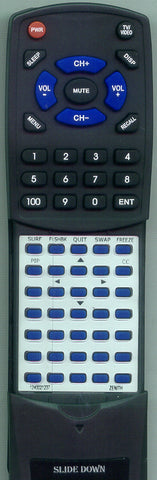 ZENITH 12421237 Replacement Remote