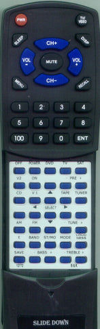 B and K PT3 SERIES II Replacement Remote