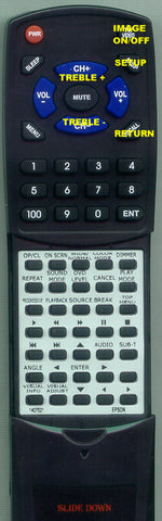 EPSON V11H181020 Replacement Remote