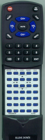 ECLIPSE CD4000 Replacement Remote