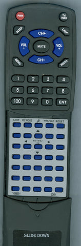 SONY KV20FS120 Replacement Remote