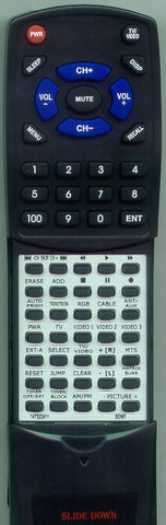 SONY KV27TX13 Replacement Remote