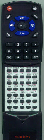 SONY 1-473-472-11 Replacement Remote