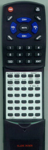 SONY HTDDW740 Replacement Remote