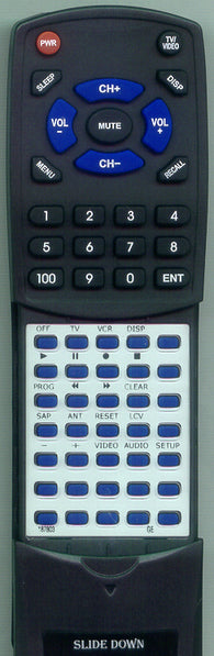 RCA 183496 Replacement Remote
