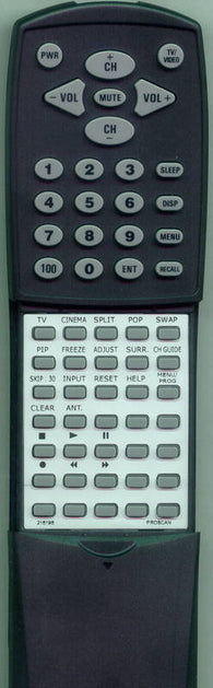 PROSCAN 210824 Replacement Remote