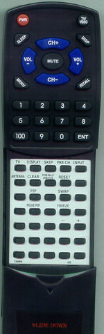 GE J27330BL Replacement Remote