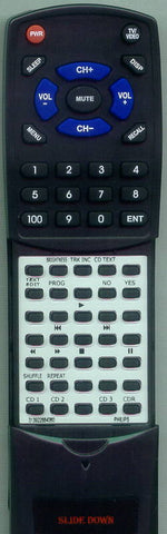 PHILIPS CDR785BK01 Replacement Remote