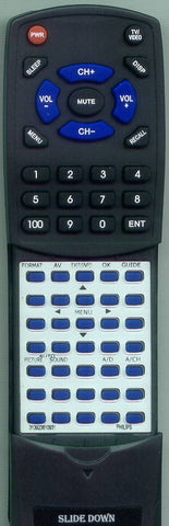 PHILIPS 32MT6015D37 Replacement Remote