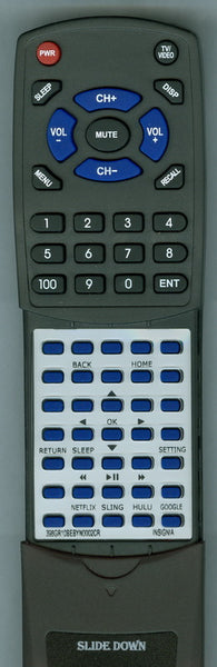 INSIGNIA 06518W21BY01X Replacement Remote
