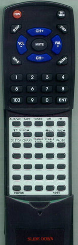 FISHER CA885 Replacement Remote