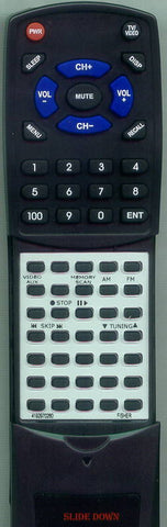 FISHER REM862 Replacement Remote