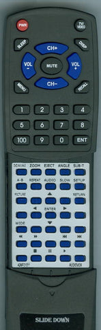 AUDIOVOX 13636402 Replacement Remote