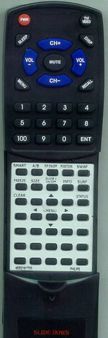 PHILIPS MX6472C101 Replacement Remote
