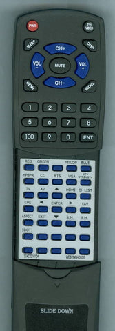 WESTINGHOUSE VR2680DF Replacement Remote