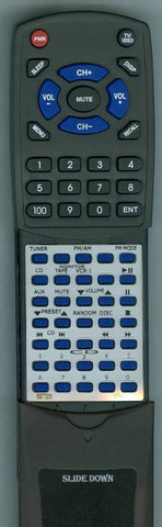 SANSUI R950AV Replacement Remote