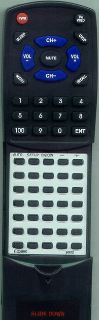 SANYO 610 229 8550 Replacement Remote
