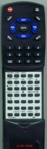 AIWA RCEX5 Replacement Remote
