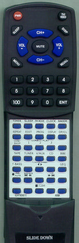 AIWA U-0098-352-U Replacement Remote