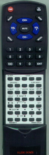 HARMAN KARDON 830004060101 Replacement Remote