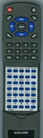 SANSUI 076R0DT160 Replacement Remote