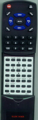 ZENITH MBR3475Z Replacement Remote