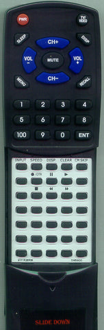 EMERSON 97P1R2BR08 Replacement Remote