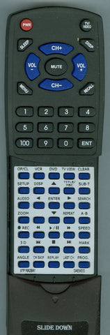 DAEWOO VRFA2BA1 Replacement Remote