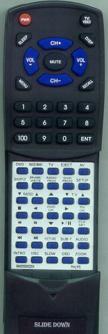 PHILIPS 994000002004 Replacement Remote