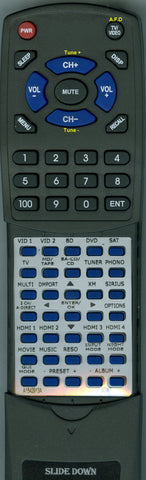 SONY 1-487-875-11 Replacement Remote