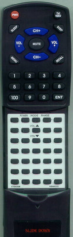 KENWOOD 1050SW Replacement Remote