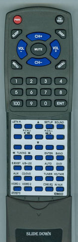 KENWOOD RTA70150715 Replacement Remote