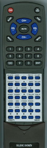 SAMSUNG LN32D461E1H Replacement Remote