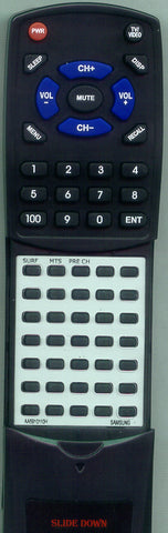 SAMSUNG TXN2034F Replacement Remote