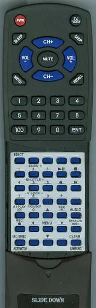 SAMSUNG VR8769C Replacement Remote