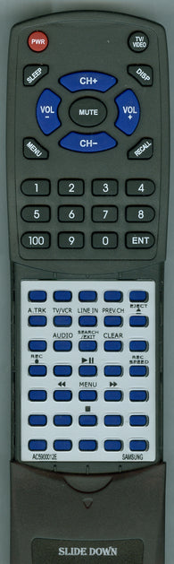 SAMSUNG 00012E Replacement Remote