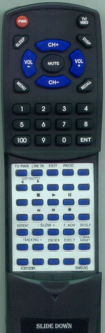 SAMSUNG 633120 Replacement Remote