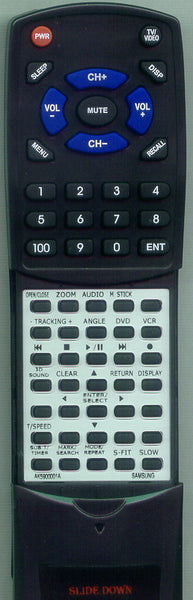 SAMSUNG 00001A Replacement Remote
