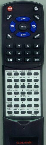 SAMSUNG DVDV2500 Replacement Remote