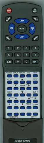 LG AKB36087410 Replacement Remote