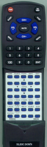 SAMSUNG SYNCMASTER 510MP Replacement Remote