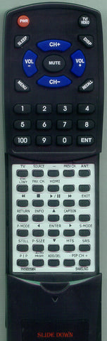 SAMSUNG LNT3732HX Replacement Remote