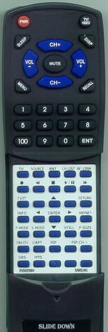 SAMSUNG LNT4061FX Replacement Remote