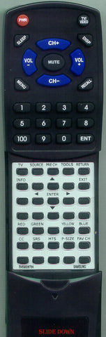 SAMSUNG LN19A330J1H Replacement Remote