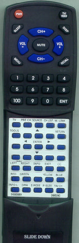 SAMSUNG LN46A650A1FXZA Replacement Remote